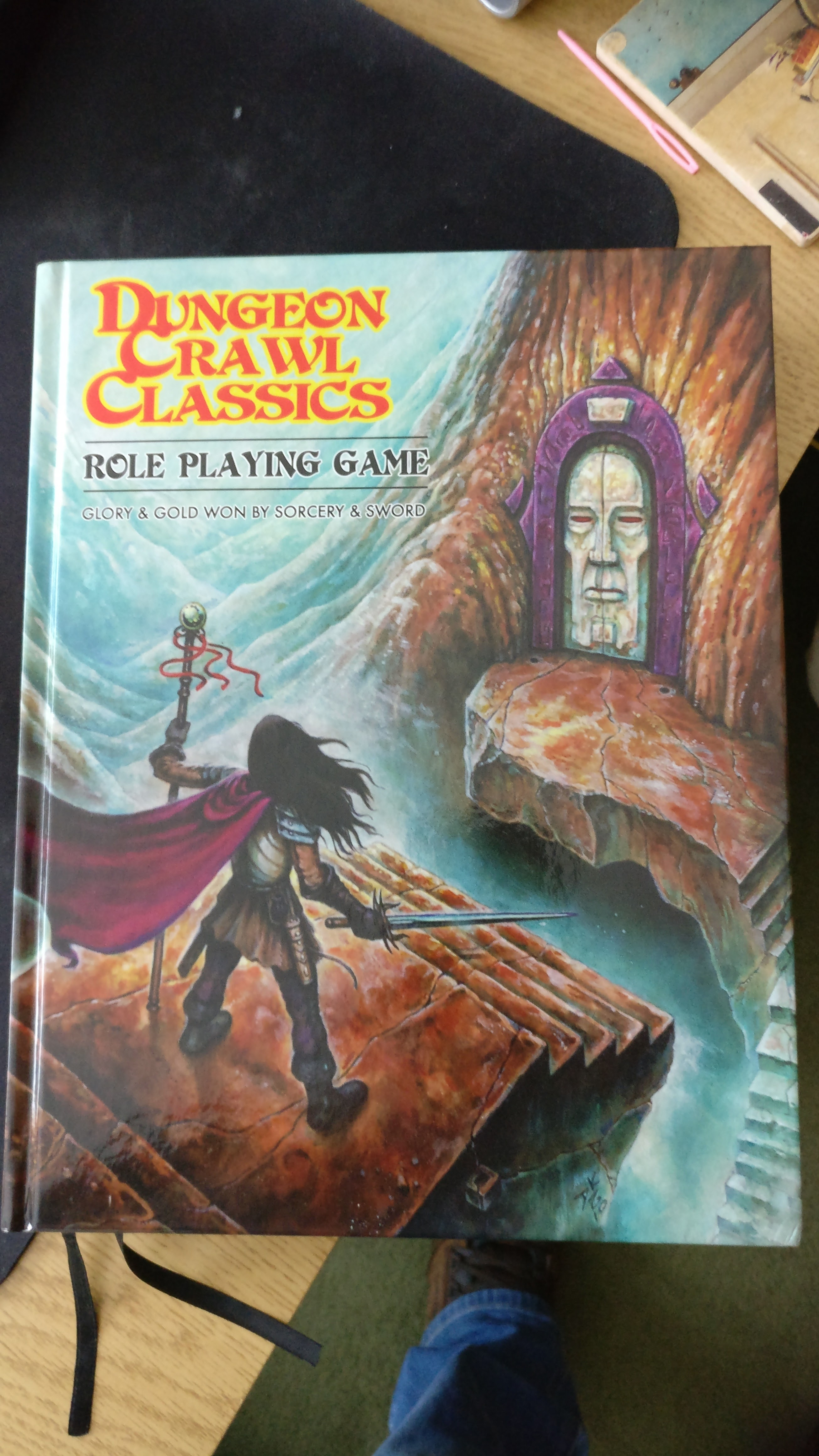 Dungeon Crawl Classics RPG – Review – Return of the Dungeon