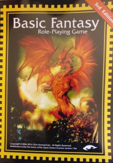 Basic Fantasy Role-Playing Game Rulebook